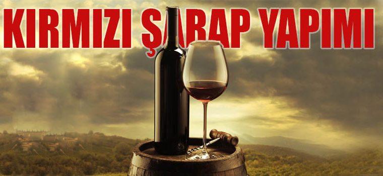 Kırmızı Şarap Yapımı