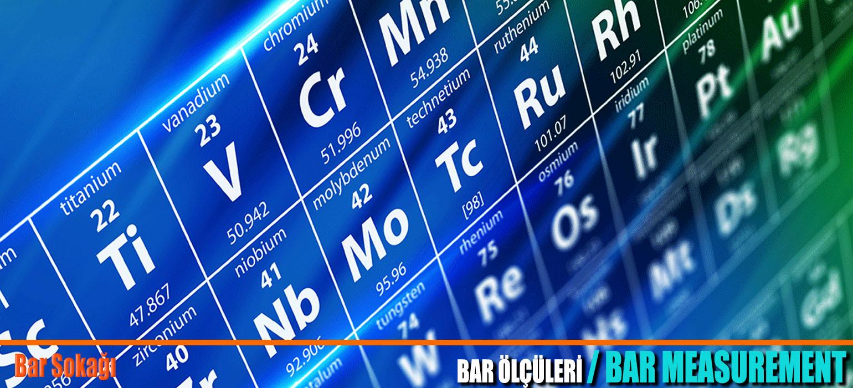 Bar ölçü tablosu 2019