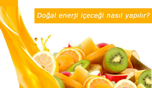 doğal enerji içeceği