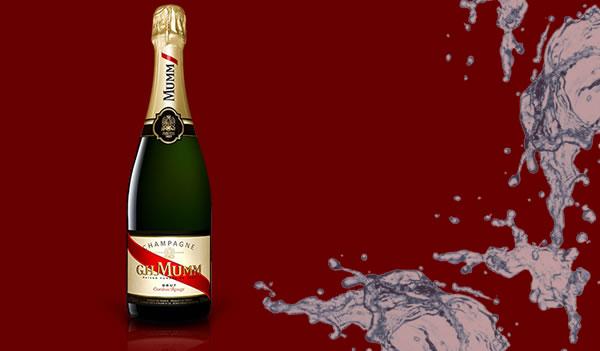Cordon Rouge şampanya Bar Sokağı