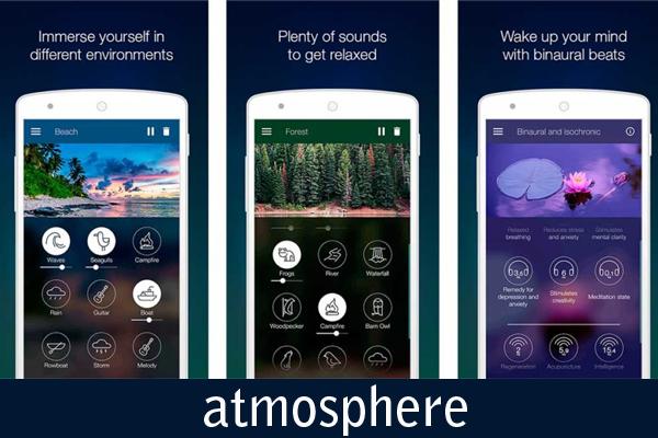 atmosphere uygulaması