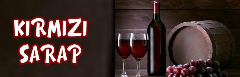 Kırmızı Şarap?