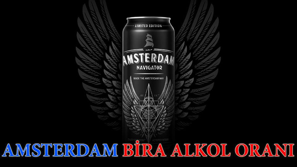 Amsterdam bira alkol oranı