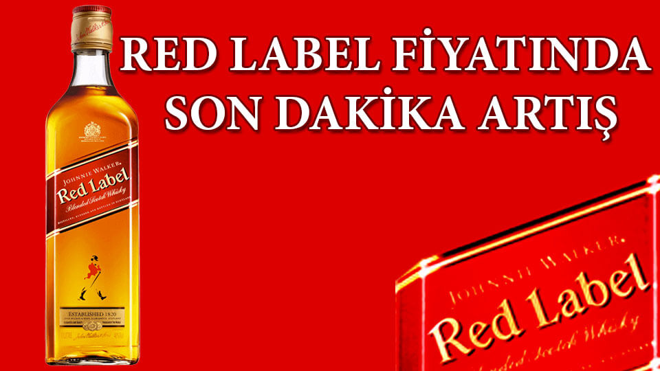 Red Label Fiyat 2019