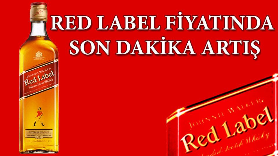Red Label Fiyat 2019