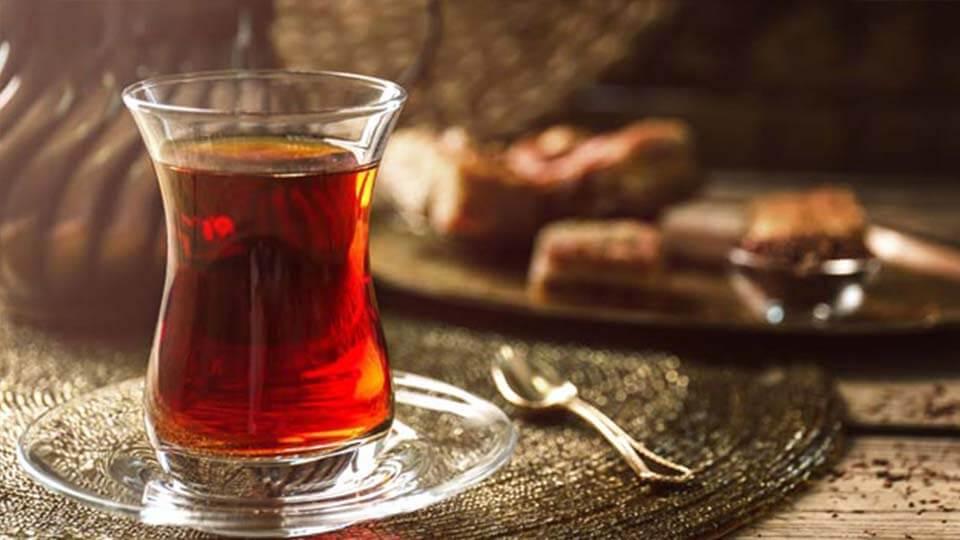 Kahvaltı için çay