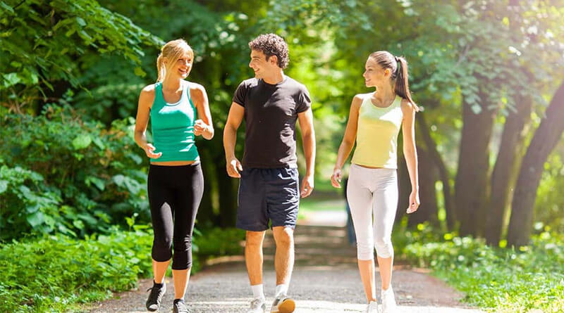 Kışın kilo vermek için yürüyüş yapın