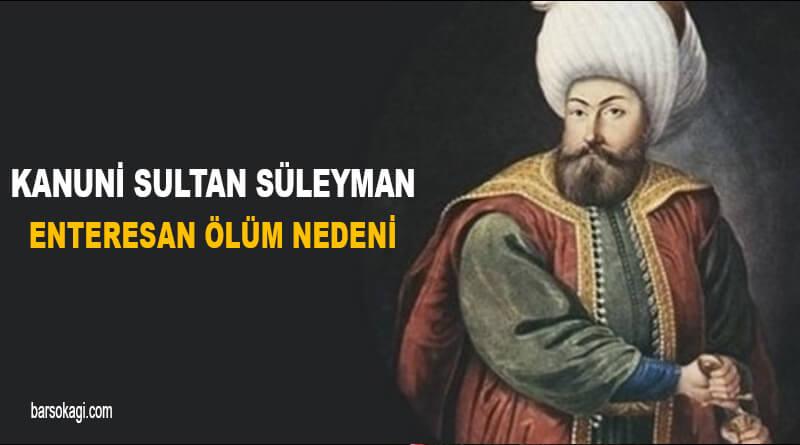 Kanuni Sultan Süleyman Ölüm Nedeni