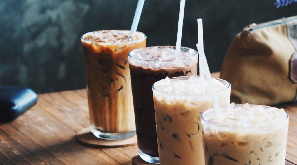 Evde soğuk kahve yapımı 2