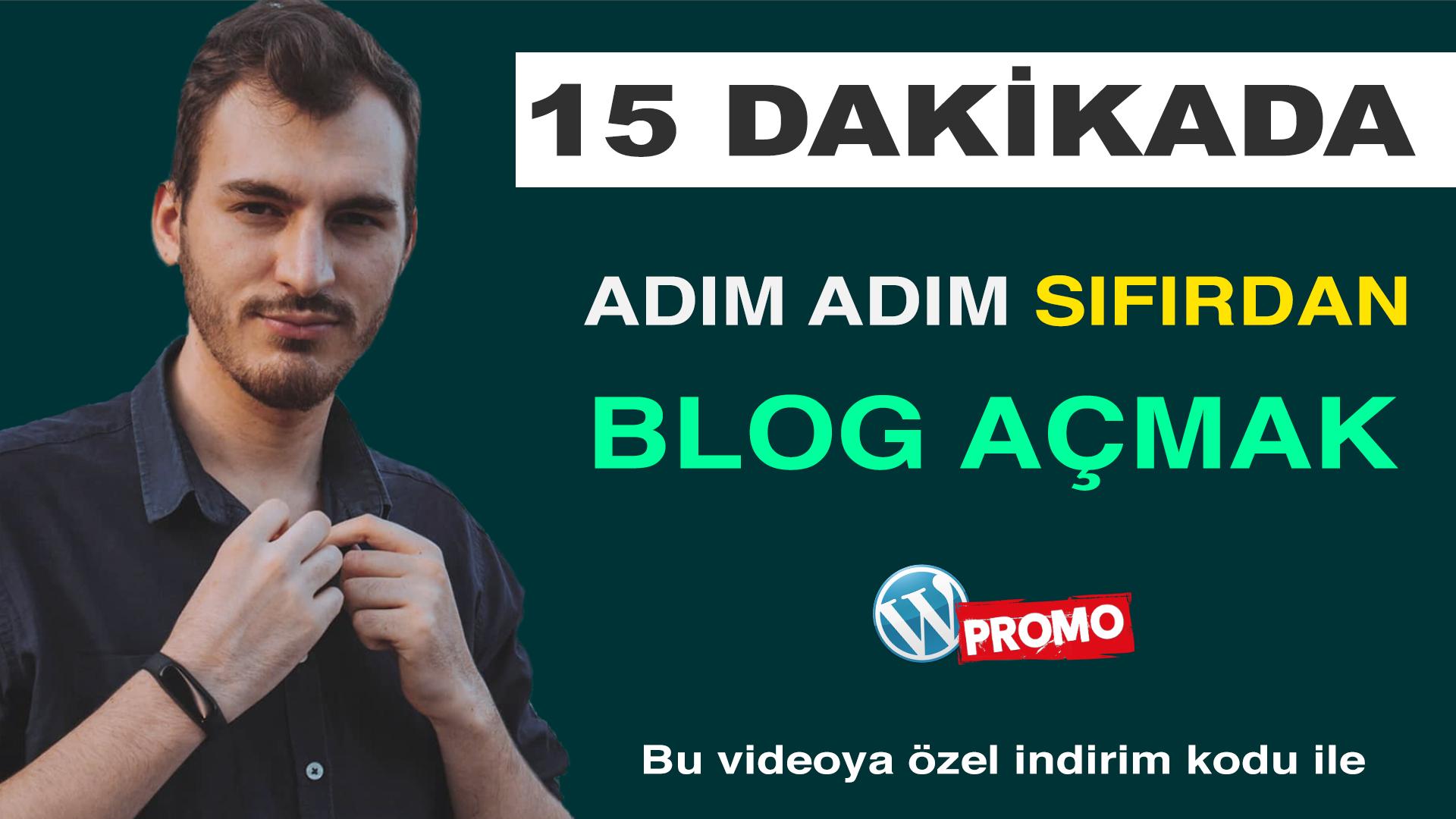 Blog Nasıl Açılır - 15 DAKİKADA BLOG AÇMAK